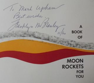 A BOOK OF MOON ROCKETS FOR YOU